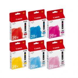Canon Inkoustová náplň  PGI29 (PGI-29) CMY/PC/PM/R MultiPack | Pixma PRO-1