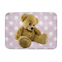 Dětský koberec Ultra Soft Medvídek růžový, 130 x 180 cm