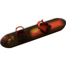 Rulyt Dětský plastový snowboard, černý