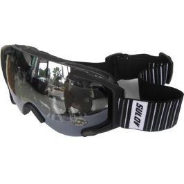 Sulov Brýle sjezdové  PICO, dvojsklo, černé