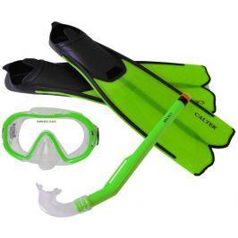 Rulyt Potápěčský set CALTER KIDS S06+M168+F41 PVC, zelený