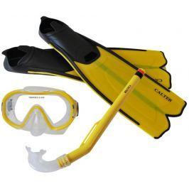 Rulyt Potápěčský set CALTER KIDS S06+M168+F41 PVC, žlutý