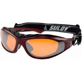Sulov Zimní sportovní brýle  ADULT II, metalická červená