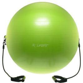 Lifefit Gymnastický míč s expanderem  GYMBALL EXPAND 65 cm