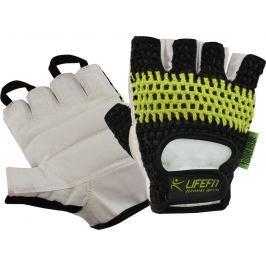 Rulyt Fitnes rukavice LIFEFIT FIT, černo-zelené, XL