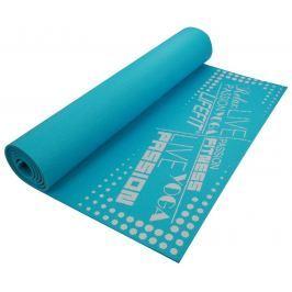 Lifefit Gymnastická podložka  SLIMFIT, 173x61x0,4cm, tyrkysová