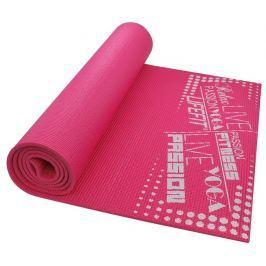 Lifefit Gymnastická podložka  SLIMFIT PLUS, 173x61x0,6cm, světle růžová