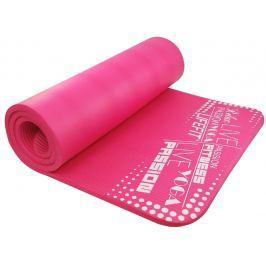Lifefit Podložka  YOGA MAT EXKLUZIV PLUS, 180x60x1,5cm, světle růžová