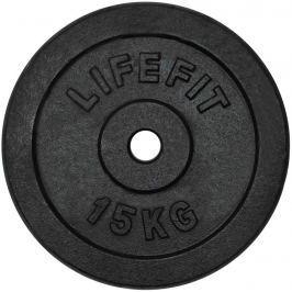 Lifefit Kotouč  15kg, kovový, pro 30mm tyč