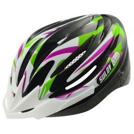Sulov Cyklo přilba  ALESSIA, fialovo-zelená, M