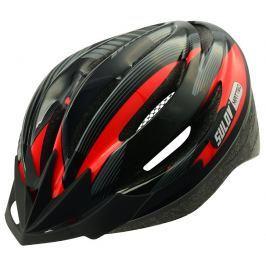 Sulov Cyklo přilba  MATTEO, černo-červená, L