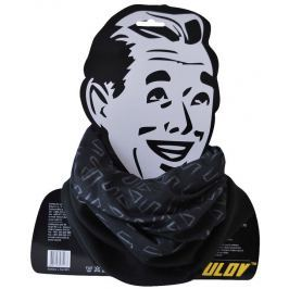 Sulov Sportovní šátek s flísem , černo-bílý