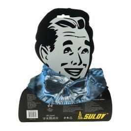 Sulov Sportovní šátek s flísem, černo-modrý