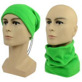 Sulov Multifunkční šátek 2v1 Fleece, zelený