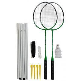 Rulyt Badmintonový set 2x raketa, 3x míček, síť, vak