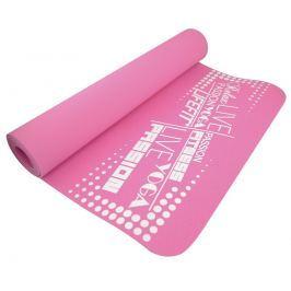 Lifefit Podložka  YOGA MAT TPE, 183x61x0,4cm, růžová
