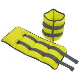 Lifefit Neoprenová zátěž  ANKLE/WRIST WEIGHTS 2 x 3,0kg, sv. zelená