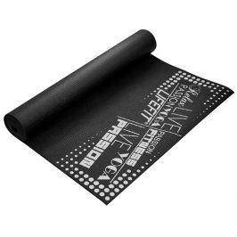 Lifefit Gymnastická podložka  SLIMFIT, 173x61x0,4cm, černá