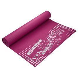 Lifefit Gymnastická podložka  SLIMFIT, 173x61x0,4cm, bordó