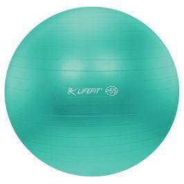 Lifefit Gymnastický míč  ANTI-BURST 55 cm, tyrkysový