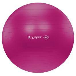 Lifefit Gymnastický míč  ANTI-BURST 65 cm, bordó