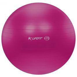 Lifefit Gymnastický míč  ANTI-BURST 75 cm, bordó