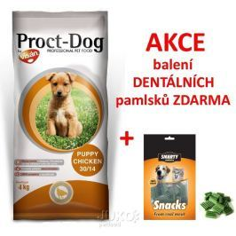 PROCT-DOG PUPPY Chicken 4kg + SNACK 70g ZDARMA-14021