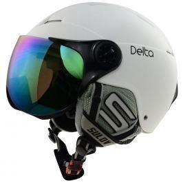Sulov Lyžařská přilba  DELTA, bílá mat, L/XL