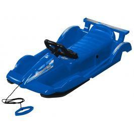 AlpenGaudi Bob plastový AlpenRace s volantem, modrý