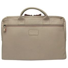 Wildskin Béžová kožená taška CALLE Oyster 20201604