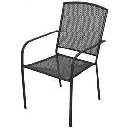 Rulyt Zahradní židle, černá, 61x56x89 cm