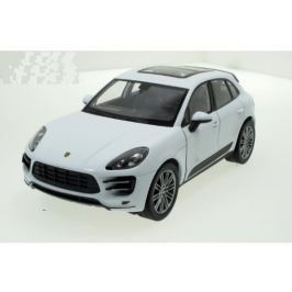 Welly - Porsche Macan Turbo model 1:24 bílé
