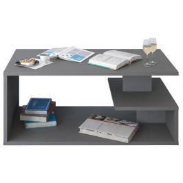 Tempo Kondela Konferenční stolek, DTD laminovaná, šedá grafit, MARSIE