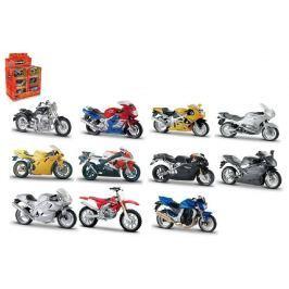 Wiky Motorka Bburago kov/plast 11-12cm asst v krabičce 18ks v boxu