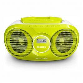 Philips Radiopřijímač s CD  AZ215G, zelený