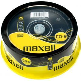 MAXELL CD-R 700MB 52x 25SP 628522