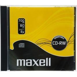 MAXELL CD-RW 700MB 4x 1PK JC 624860