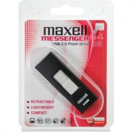MAXELL USB FD 64GB 2.0 Messenger black