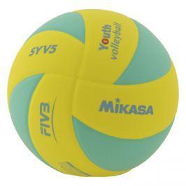 MIKASA Volejbalový míč  SYV5 Yellow/Green