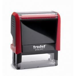 TRODAT Razítko Printy 4913, červená-černá, černý polštářek,