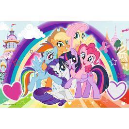 TREFL Puzzle My Little Pony: Šťastní poníci MAXI 24 dílků