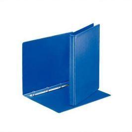 ESSELTE Kroužkový pořadač, s průhlednými kapsami, modrá, 4 kroužky, 25 mm, A4, PP, ESSEL