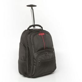 "Verbatim Batoh Notebook Backpack Roller ""Paris"" 17"" Blac"