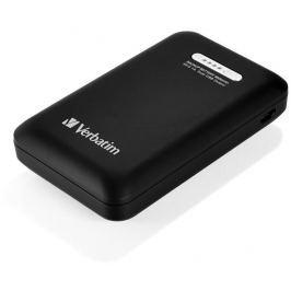 Verbatim Přenosný napájecí zdroj se dvěma porty USB 10400mAh,