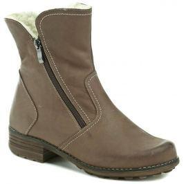 MintakaCZ Mintaka 670G hnědé dámské zimní boty, 37