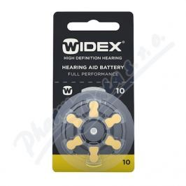 RAYOVAC Baterie do naslouchadel Widex 10 6ks