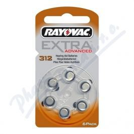 RAYOVAC Baterie do naslouch. Extra Adv.312/PR41 6ks
