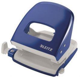 LEITZ Celokovová stolní děrovačka NeXXt Wow 5008, modrá, 30 listů,