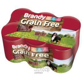 Brandy Grain Free 3 Mix 395g (6pack)-13311, 4ks
