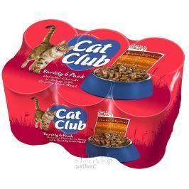 Cat Club Mix Chunks in Gravy 400g (6pack) v OMÁČCE, 4ks